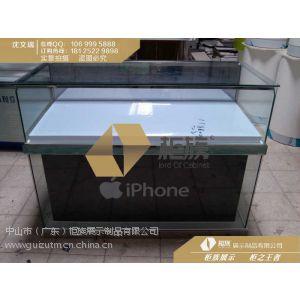 供应常州苹果木质玻璃手机柜台;苹果专卖店体验桌
