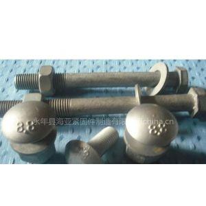 供应护栏螺栓,防盗护栏丝,六角螺母 热镀锌螺母 防盗螺母
