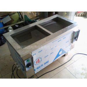 供应五金电镀厂双槽清洗机 超声波清洗