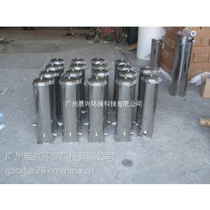 供应正宗不锈钢5芯20寸抱箍式保安过滤器 精密过滤器 厂家直销