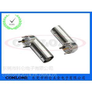 厂家供应BNC金属四脚90度同轴视频连接器端口