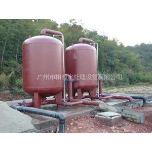 供应广州和源水处理设备公司生产的井水除铁锰过滤器,广东井水过滤净化设备,地下水处理设备