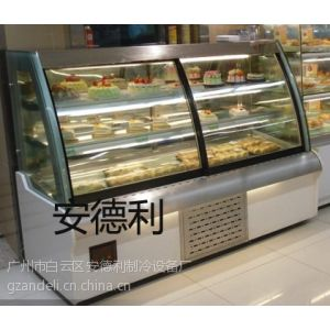 厂家直销T2欧式前开门蛋糕柜,三层蛋糕柜,黑色蛋糕保鲜柜