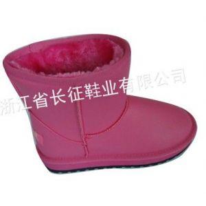 供应雪地靴中筒靴牛筋底女靴子女鞋子冬靴