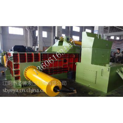 供应圣博Y81-3150液压金属打包机、金属废料边角料压块机