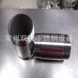 供应不锈钢丝扣管件100长,双腾,价格合理质量好,选双腾