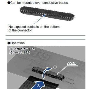供应广濑FPC连接器FH26-51S-0.3SHW