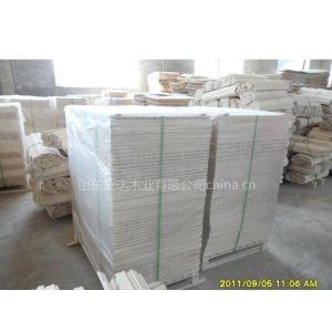 供应中高档杨木LVL单板层积材婴儿床扁条-泛达木业