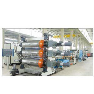 供应上海金纬机械环保节能PP聚丙烯石粉环保片材机器生产线