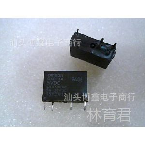 供应G6D-1A 5VDC (OMRON)4脚位拆机二手继电器