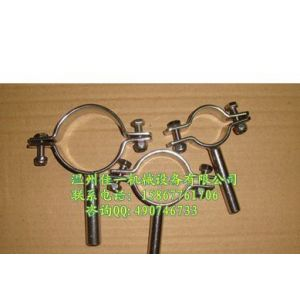 供应不锈钢管卡 钢板压制管支架 不锈钢管支架 不锈钢管箍