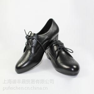 供应欧美真皮女鞋平跟浅口女士单鞋
