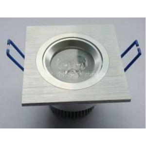 供应批发LED方形3W 天花灯