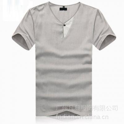 供应广州T恤订做 圆领T恤衫定做 批量定做t恤衫