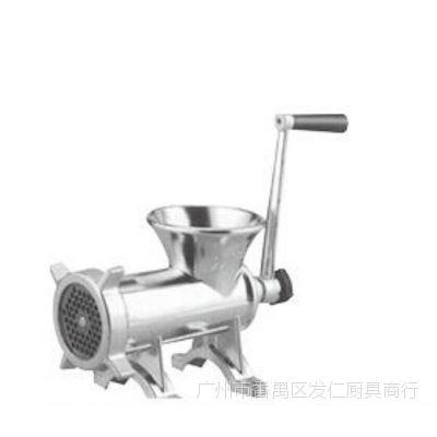 酒店厨房用品多功能不锈钢手摇绞肉机搅磨机