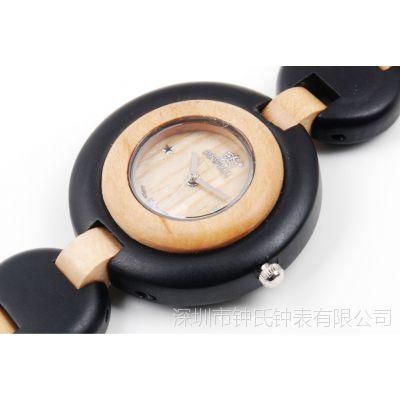 2012引领时尚的木手表,檀木制成轻巧精致是女人的***爱