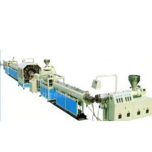 青岛华亚塑料机械供应PVC纤维增强软管生产线设备