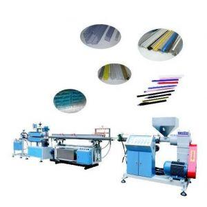 塑料单螺杆PC灯管生产线 单螺杆异型材挤出机 塑料灯罩设备
