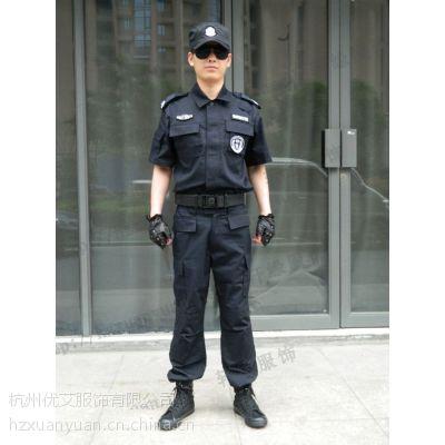供应黑色美国特警作训服套服作战服 /保安套服/制服/99新款短袖特训服