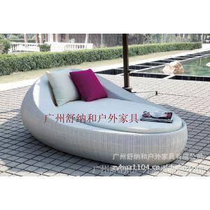 供应广州厂家直销  优质编藤桌椅、编藤躺床 餐厅休闲椅 户外藤制家具