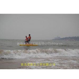 水上自行车、稳定性的水上自行车
