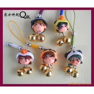 供应软陶娃娃水晶娃娃 台湾公仔手机挂件(配件)