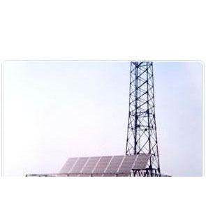 太阳能电池方阵、蓄电池