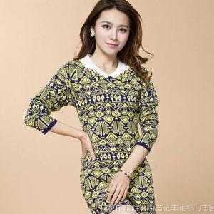供应女款春装毛衣 女士新款韩版时尚长款羊毛衫特价批发针织衫