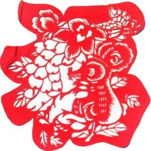 供应鼠福剪纸 中国剪纸 剪纸工艺 手工剪纸 春节窗花