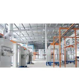 深圳/东莞自动静电喷粉线,吊挂炉,粉体/液体涂装线