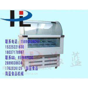 供应新乡硬冰展示柜13323849962/冰淇淋展示柜价格