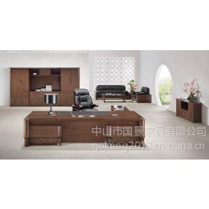 中山办公桌椅厂家直销,企业实木办公家具配套,国景家具