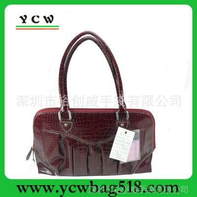 深圳箱包厂家 订做手提袋 时尚女包 出口 PU包