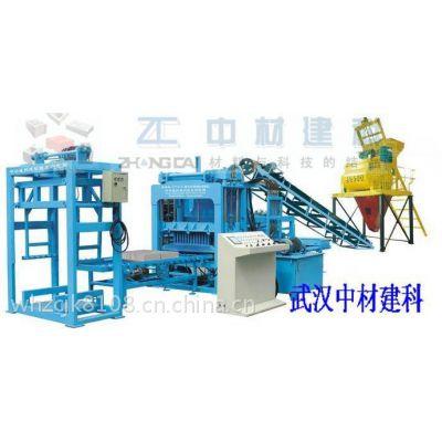 中材建科制砖机丨全自动制砖机丨免烧砖机(QTY4-15)