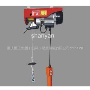 供应重庆钢丝绳电动葫芦,PA微型电动葫芦