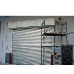 供应防火卷帘门 主帘板和铺助帘板一次性挤压而成