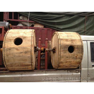 浙江义乌抛光厂家现货供应木桶滚筒机 800L 水抛型的