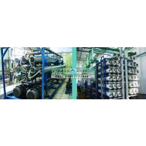 供应200吨海水淡化反渗透水处理设备
