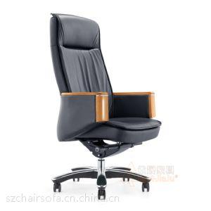 供应供应真皮办公椅 高背大班椅 高档真皮老板椅子定制 众晟家具