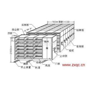 供应全封闭式密集架 型号:YMSY-003