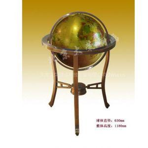 供应高架铜地球仪、大规格铜质地球仪、铜地球仪