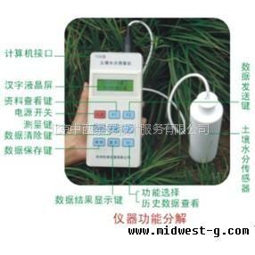 供应土壤水分测定仪(便携) 中国 型号:41M/TZS-II库号:M271913