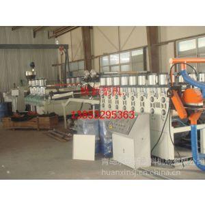 供应PVC木塑家具橱柜门板生产线