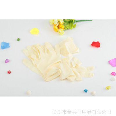 长期供应 利兵6只装超薄乳胶手套 防水家务手套