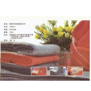 供应提缎竹纤维卡通面巾 加厚柔软 中国结毛巾正品 TD8431