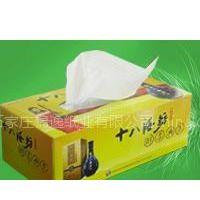 供应河北唐山广告盒抽纸 唐山礼品抽纸定做 广告宣传抽纸