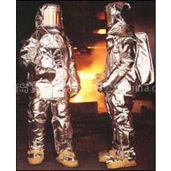 四川炉前工避火高温防护服连体款,价格交警机动车执法分体雨衣