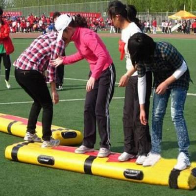 供应趣味团体活动【同舟共济】心悦专业生产趣味体育器材