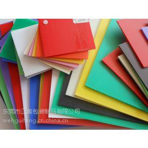 供应化州款式新颖 价格低廉的pp聚丙烯板材 PP中空板