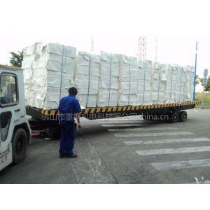 供应中德重科平板拖车 供应短途周转 平板车 质量保证